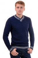 Jumper with shawl collar