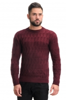 Jumper with embossed pattern