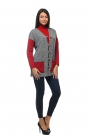 Womens jacket with bright accents